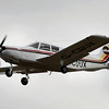 "G-CDUX<br /> Piper PA-32-300 Cherokee Six<br /> Pilot lost control during a crosswind landing at Newtownards Airport on 6th June 2014 resulting in extensive damage to the left wing, fuselage, tailplane and propeller.<br /> <br /> <a href=""https://www.gov.uk/aaib-reports/aaib-investigation-to-piper-pa-32-300-cherokee-six-g-cdux"">https://www.gov.uk/aaib-reports/aaib-investigation-to-piper-pa-32-300-cherokee-six-g-cdux</a>"