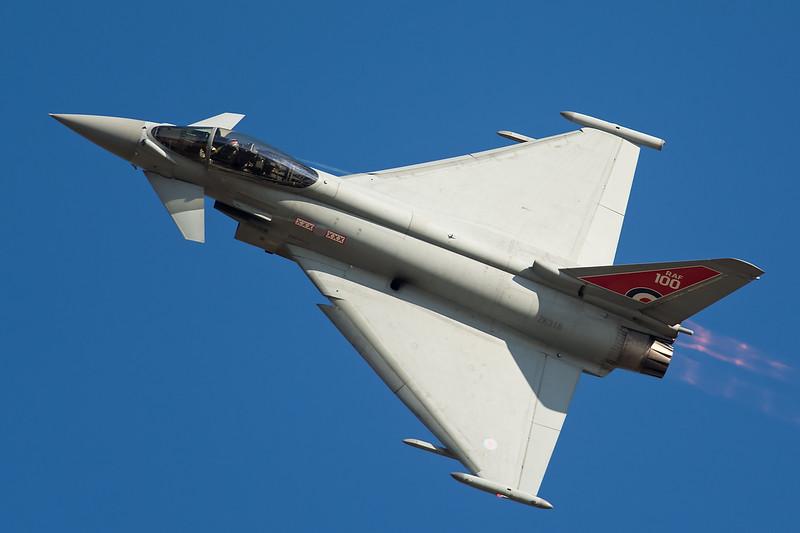 RAF Eurofighter Typhoon FGR4 ZK318