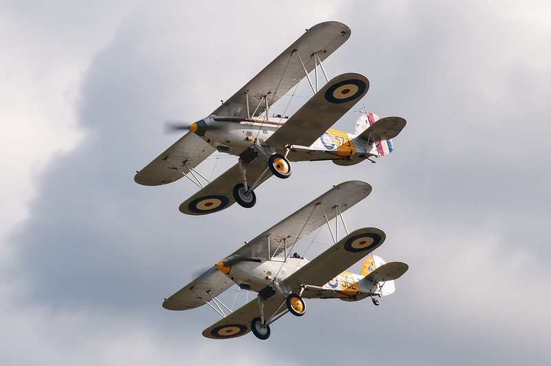 Hawker Nimrod I G-BWWK / S1581 & Hawker Nimrod II G-BURZ / K3661