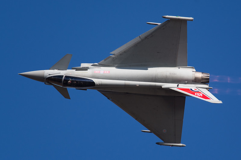 RAF Eurofighter Typhoon FGR4 ZK318
