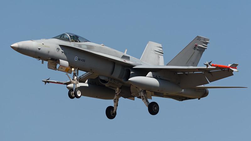McDonnell Douglas F/A-18 Hornet ,Finland Air Force, HN-435
