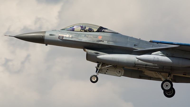 General Dynamics F-16-AM J-017 Royal Netherlands Air Force