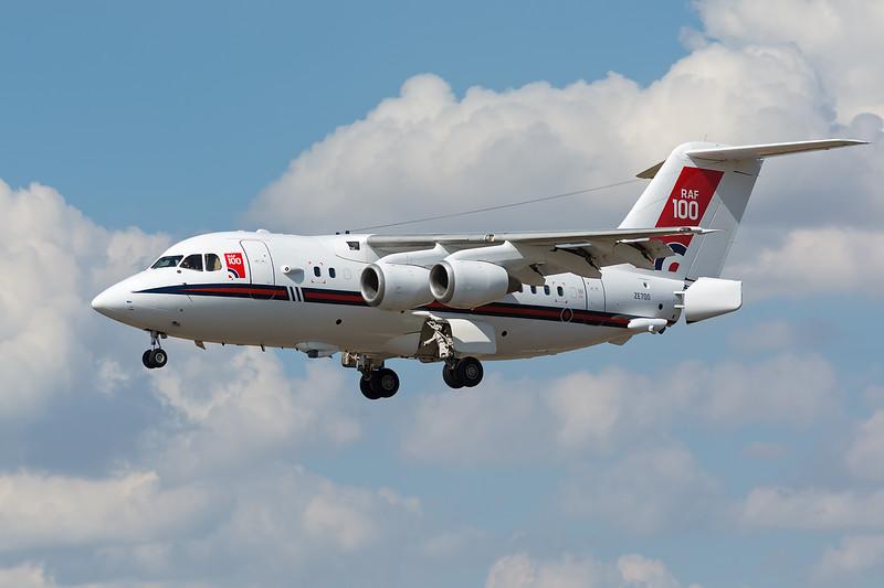 RAF BAE146 ZE700