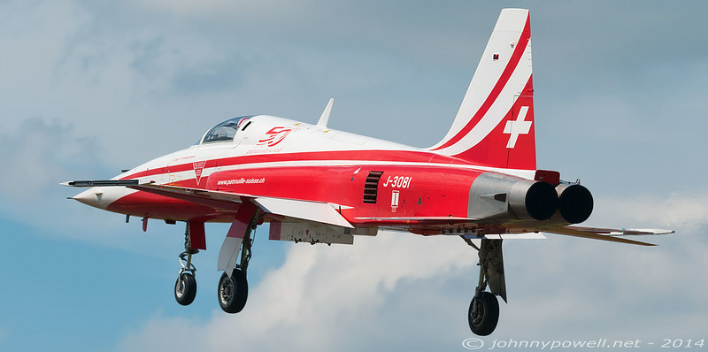Patrouille Suisse Northrop F-5E Tiger II