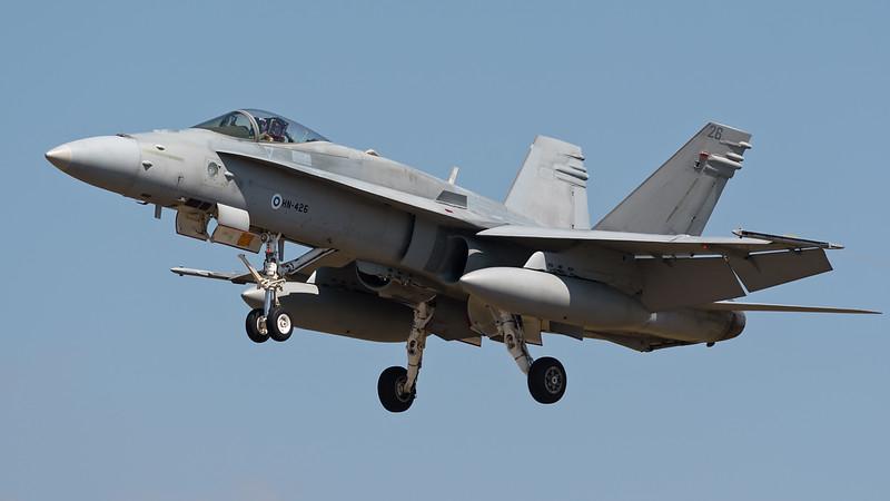 McDonnell Douglas F/A-18 Hornet ,Finland Air Force, HN-426