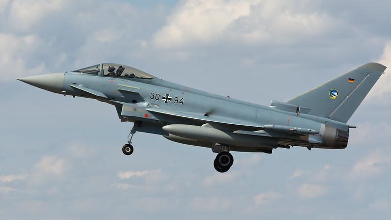 German Air Force Typhoon 30+94