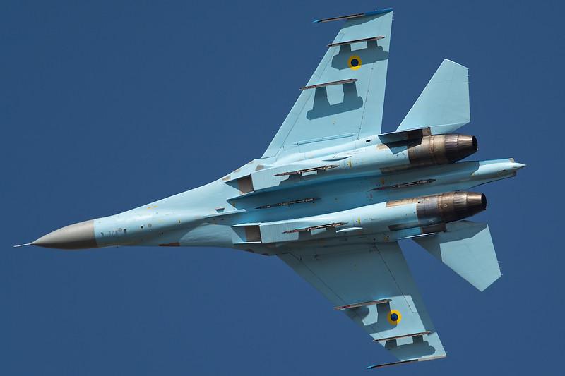 Ukrainian Air Force Su-27 Flanker 58
