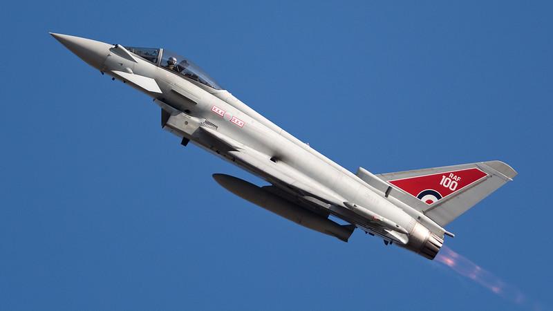 RAF Eurofighter Typhoon FGR.4 ZK318