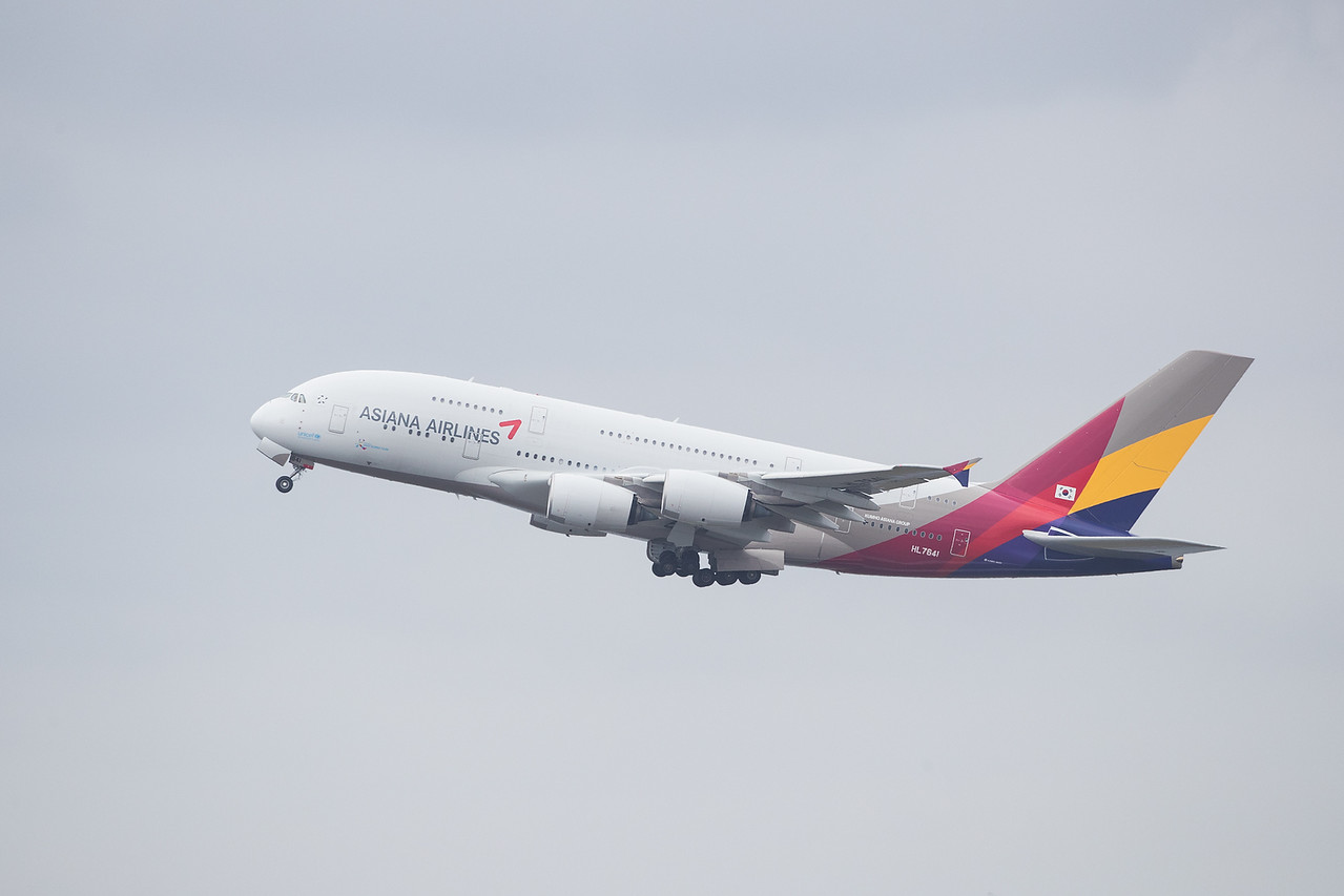 Asiana Air Lines, HL 7641