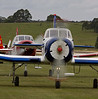 A pair of Yak 18Ts taxi out.
