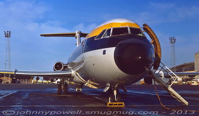 Monarch Airlines BAC 1-11 G-BCXR