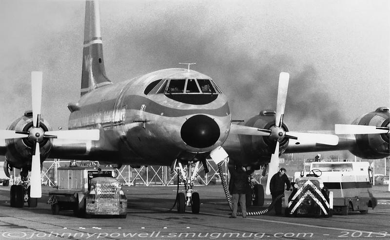 Wrangler Aviation Canadair CL-44