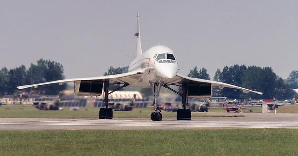 British Airways Aerospatiale-BAC Concorde.