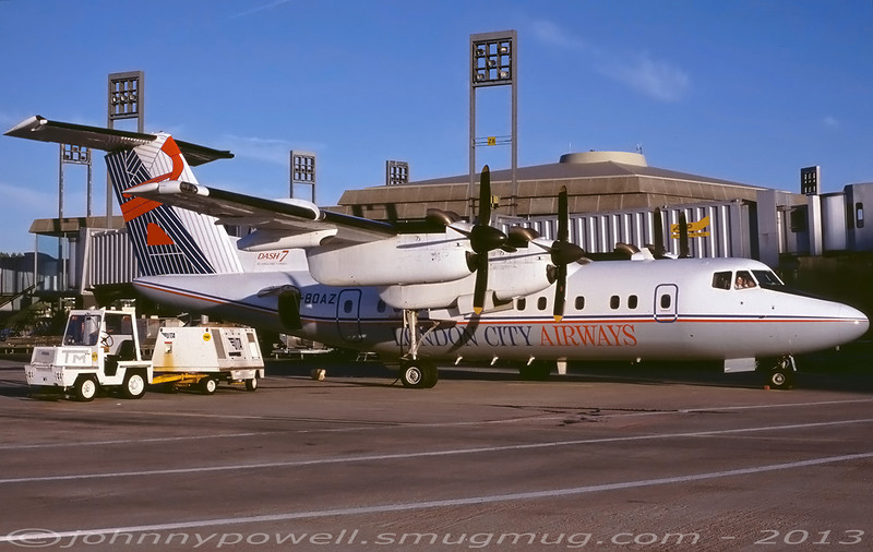 London City Airways De Havilland Canada Dash 7