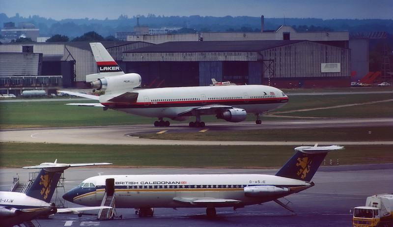 Laker Airways McDonnell Douglas DC-10-10 G-BBSZ