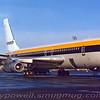 Monarch Airlines Boeing 720 G-AZKM