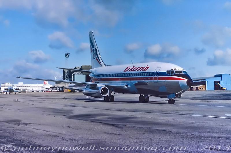 Britannia Airways Boeing 737-200