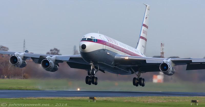 Qantas (Qantas Foundation Memorial) Boeing 707-138B