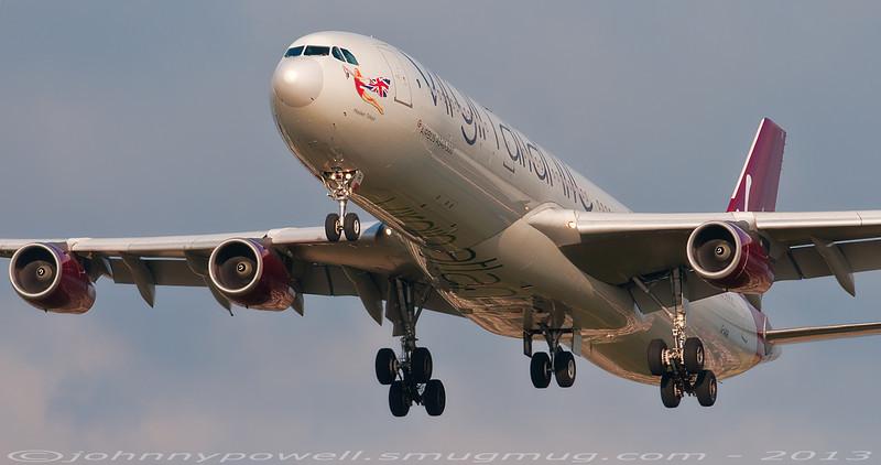 Virgin Atlantic A340-300