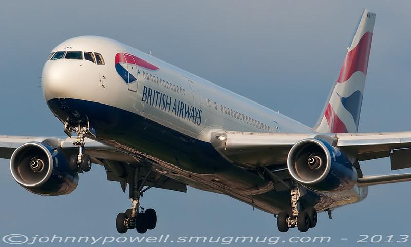 British Airways Boeing 767