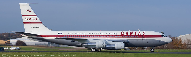 Qantas (Qantas Foundation Memorial) Boeing 707-138B
