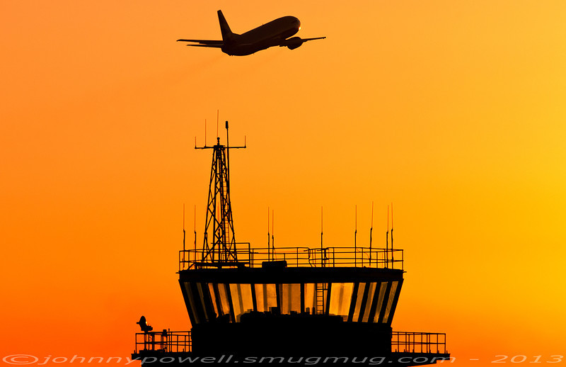 The old tower at Gatwick. 15NOV10