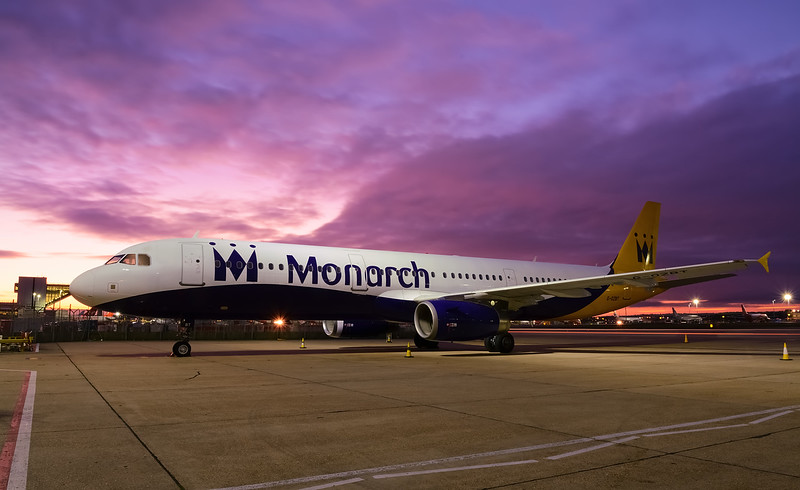 Monarch Airlines A321 G-OZBT