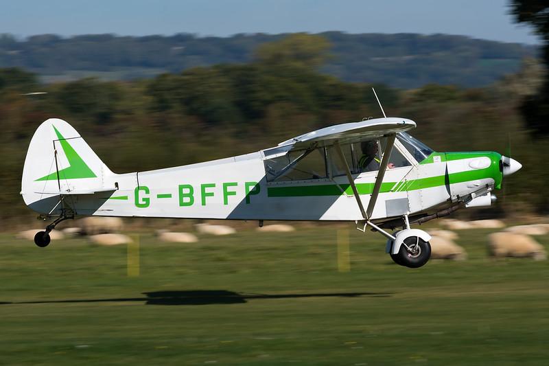 G-BFFP, Piper PA-18-150 (Modified) Super Cub
