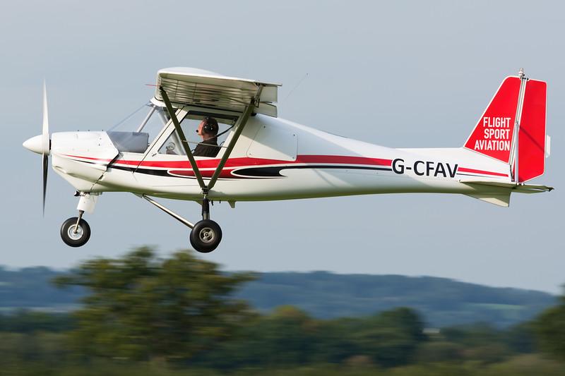 Ikarus C-42 G-CFAV