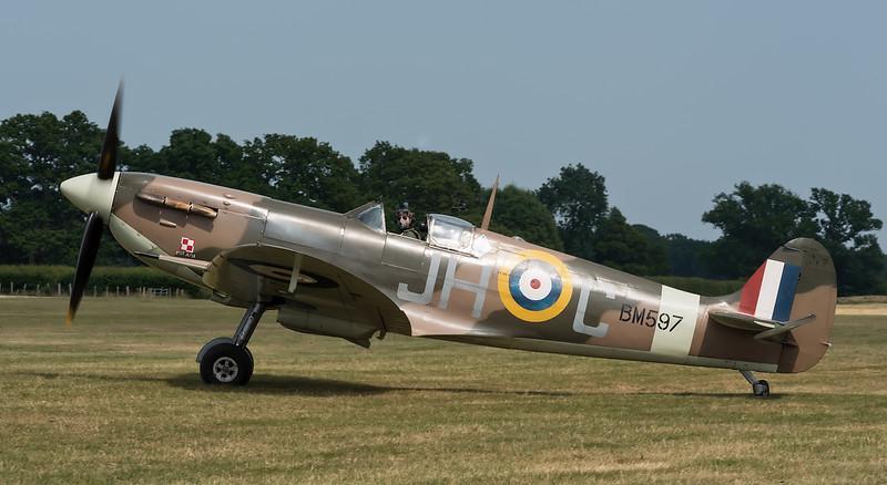 Supermarine Spitfire Vb BM597 (G-MKVB) Historic Aircraft Collection Ltd.