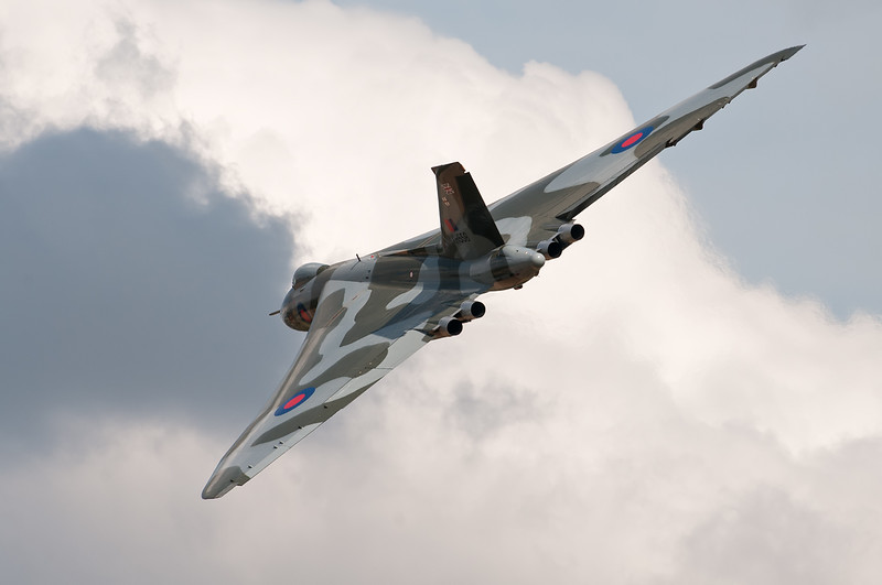 Avro Vulcan XH558