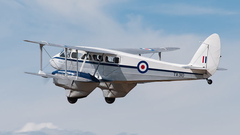 "De Havilland DH89A Dragon Rapide 'TX310' ""nettie"" (G-AIDL)"