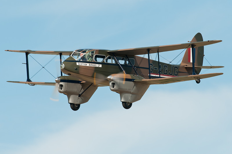 De Havilland Dragon Rapide G-AGJG