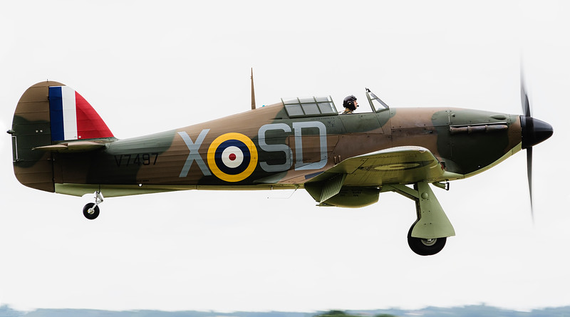 Hawker Hurricane MK1 V7497 G-HRLI