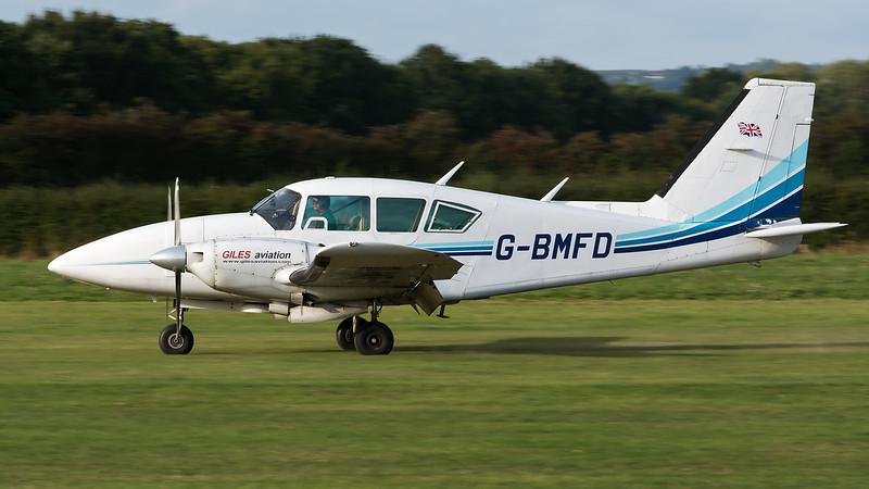 G-BMFD  Piper PA-23-250F Aztec Giles Aviation