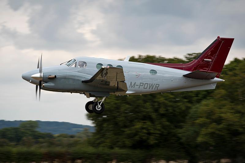 M-POWR Beech C90 King Air