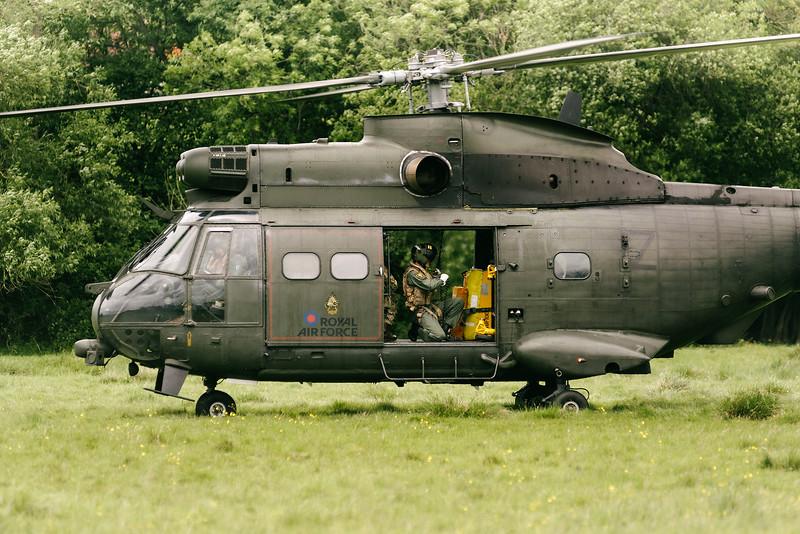 ZJ957 Royal Air Force Puma HC2