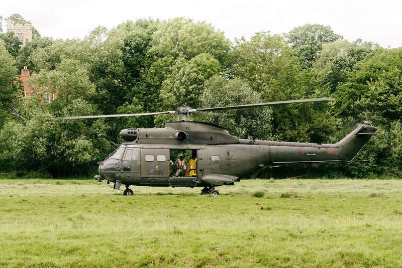 ZJ957 Royal Air Force Puma HC2