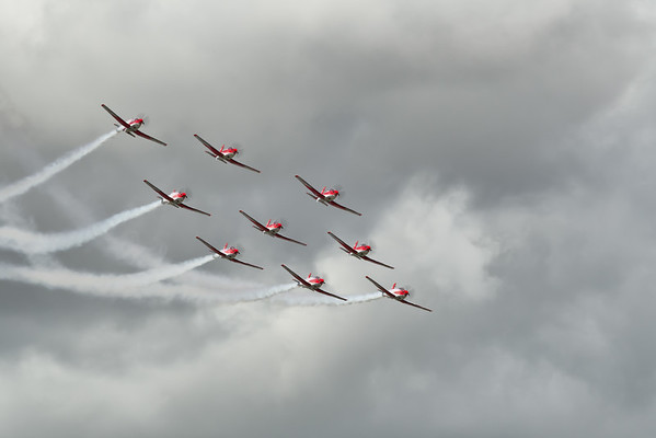 PC-7 Team - Swiss Airforce