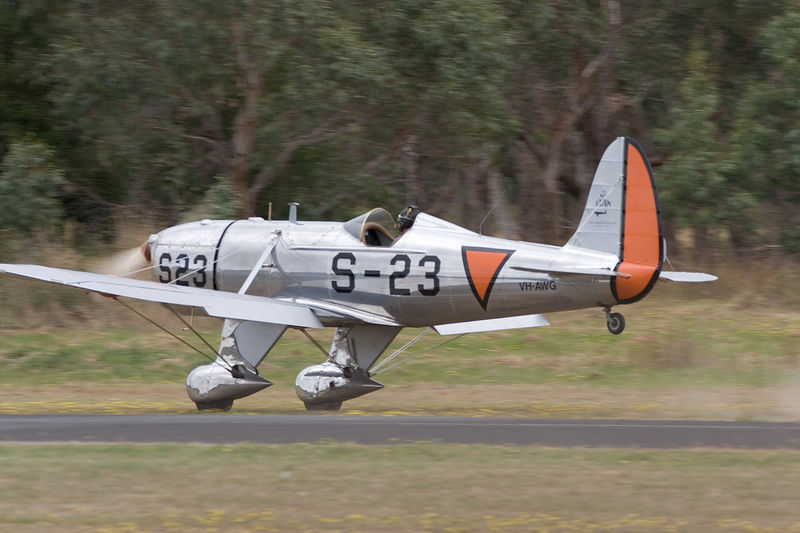 VH AWG<br /> <br /> Power Driven Aeroplane with tailwheel-fixed landing gear<br /> Single Piston engine<br /> <br /> Manufacturer: RYAN AERONAUTICAL CORP<br /> Model: ST-M/2<br /> Serial number: 459<br /> Aircraft first registered in Australia: 17 May 2000