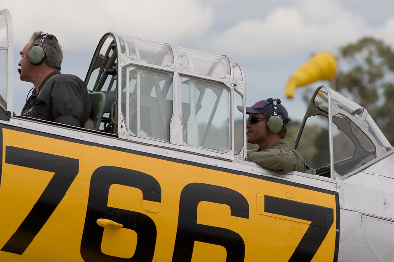 Former South African Airforce T-6 TEXAN/SNJ/HARVARD 7667