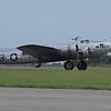 """WW II B-17G """"Aluminum Overcast""""  in Marion, Illinois"""