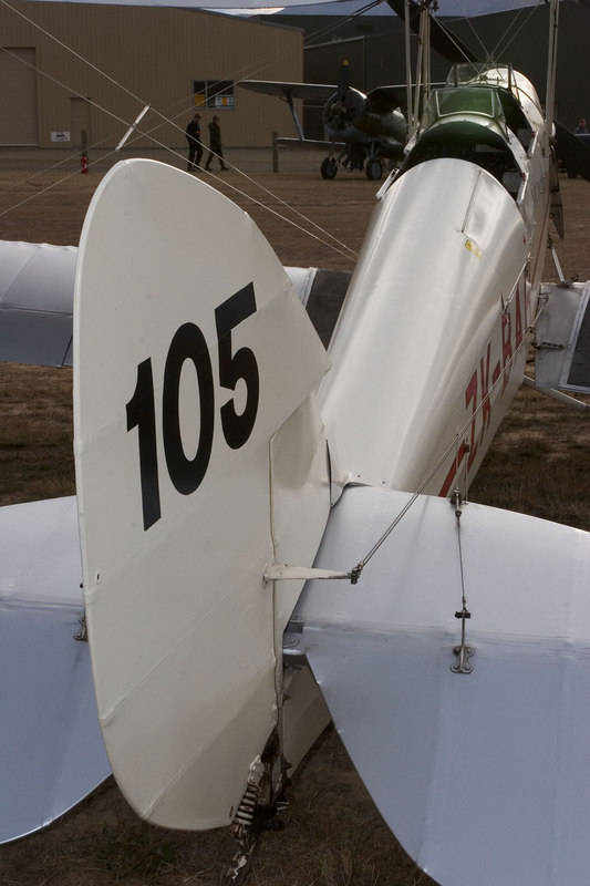 DH-82a ZK-BAH  faces off with Polikarpov I-153.
