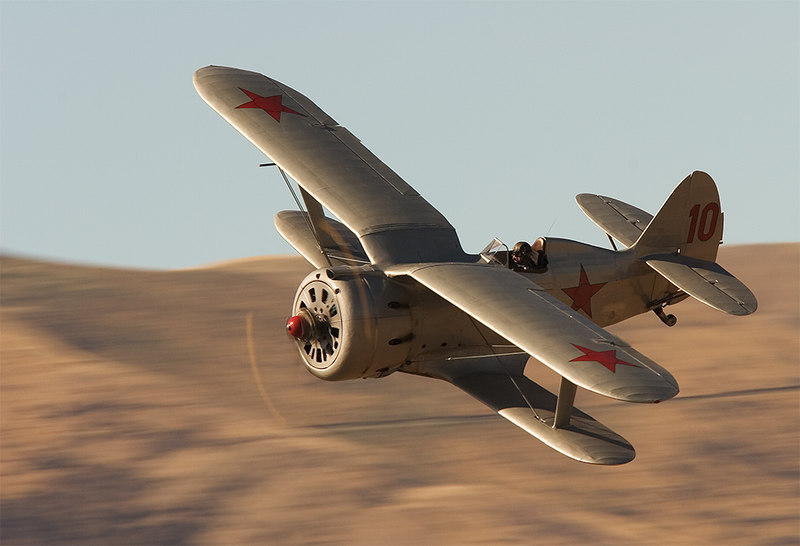 """Polikarpov I-153 Chaika which was armed with four 7.62 mm machine guns and was powered by a M-62 1,000 hp engine giving a top speed of 275 mph making it the fastest biplane ever produced. The I-153 first flew in 1938 and served in the Far East in the summer of 1939 against the Japanese Army on the Manchurian border at Nomongan. The type also saw service in the Finnish War of 1939-40. Used by the Chinese Nationalist forces against the Japanese. This and two other wrecks, sourced from Russia, were rebuilt in that country for Sir Tim Wallis in the 1990s.  More information from  <a href=""""http://www.nzfpm.co.nz/articles/i153wings.htm"""">http://www.nzfpm.co.nz/articles/i153wings.htm</a><br /> <br /> This images appears in issue 11 of Aero Australia."""