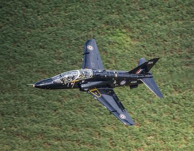 Hawk T4 above Mach loop