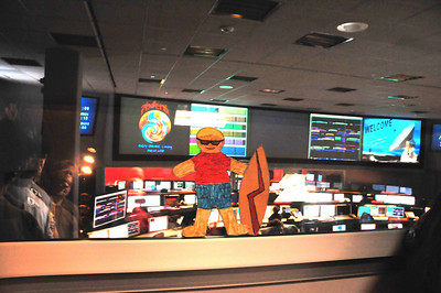 Flat Stanley @ the Deep Space Network Operations Control Center