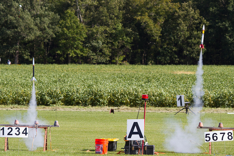 A drag race at the MDRA 9/15/2012 launch