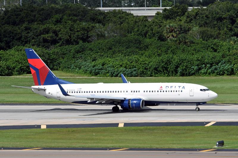 Date:  9/13/16 - Location:  KTPA<br /> Dep/Arv/Enr:  Arv - RW/Taxi/Ramp:  RW01L<br /> Manufacturer:  Boeing <br /> Model:  B737-832 - RegNmb:  N394DA<br /> C/N:  30562<br /> Misc: