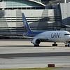 Date:  2/10/18 - Location:  KMIA<br /> Dep/Arv/Enr:  Dep - RW/Taxi/Ramp:  Terminal area<br /> Manufacturer:  Boeing<br /> Model:  B767-316 (ER) - C/N:  34629 - RegNmb:  LV-CFV<br /> Nose Art/Livery:  <br /> Misc: