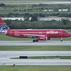 "Date:  10/01/16 - Location:  KMCO<br /> Dep/Arv/Enr:  Dep - RW/Taxi/Ramp:  RW17R<br /> Manufacturer:  Airbus <br /> Model:  A320-232 - RegNmb:  N615JB<br /> C/N:  2461<br /> Misc:  ""Blue Bravest"""